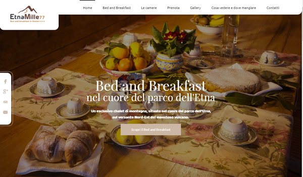 Creare sito bed and breakfast